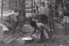 Saganeiti la cottura dell'anghera