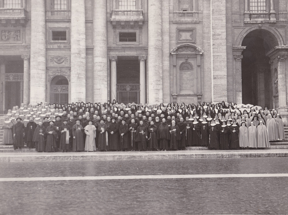 Missionari italiani reduci gennaio 1943 Vaticano