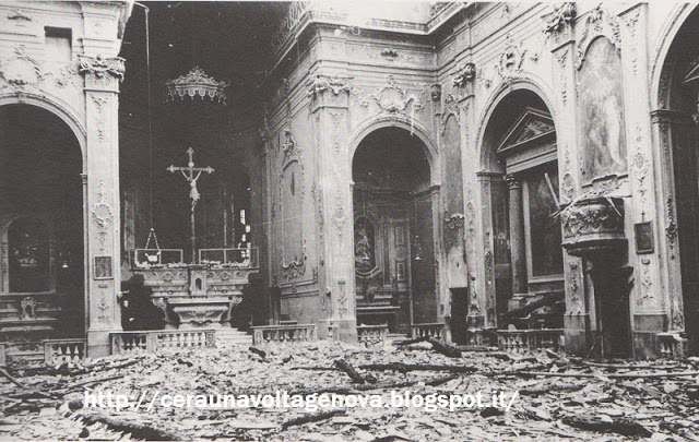 2 Foto bombardamento Chiesa della Nunziata