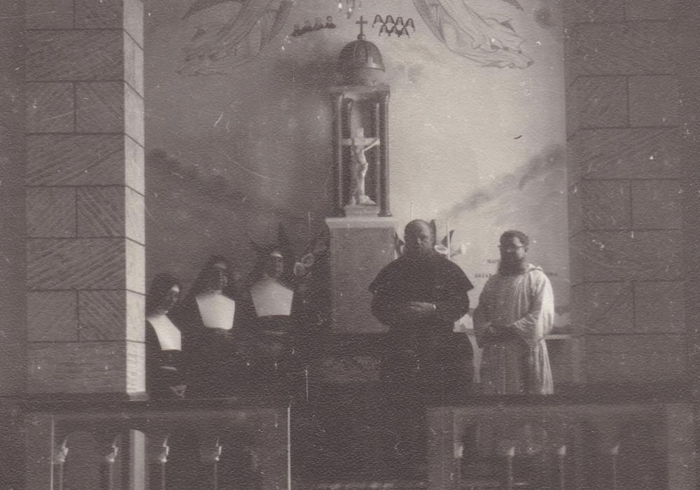 Barra do Corda. Nella Chiesa dedicata ai Martiri di Alto Alegre (1964)
