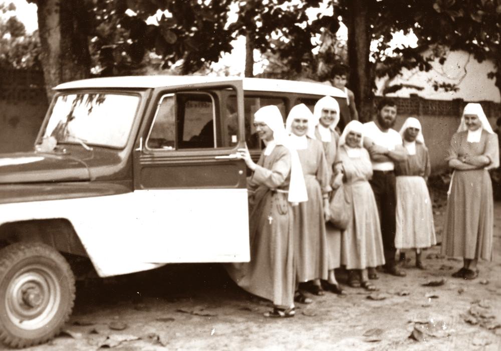 Barra do Corda. Nel cortile del Seminario cappuccino (1975)