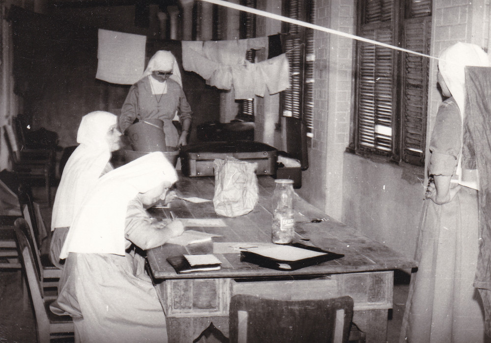 Barra do Corda. Ospiti temporanee nel Seminario dei cappuccini (1975)