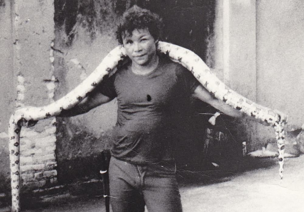 Grajaù Lebbrosario. Raimundo, ragazzo lebbroso addomesticatore di serpenti (1979)