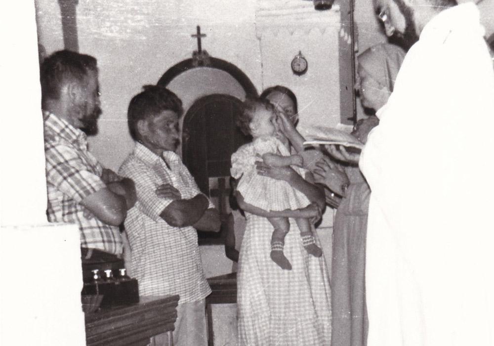 Alto Alegre 1981. Ricordo della gioia dell'ultimo Battesimo