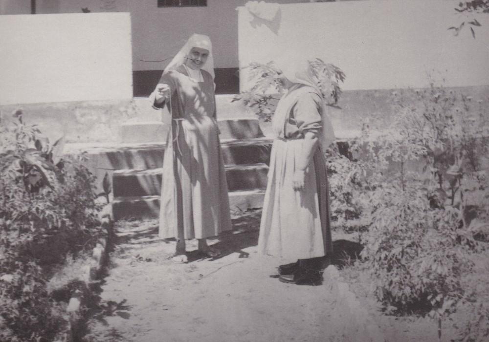 Giardino della casa della missione di A.A. 1975
