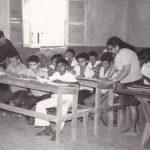 Nella scuola elementare di A.A.