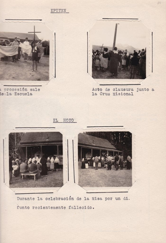 Breve resena de la gira Misional 1957