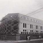 Lima aprile 1991. Cantiere del Centro fraternal 'El buen Pastor' a Chorillos