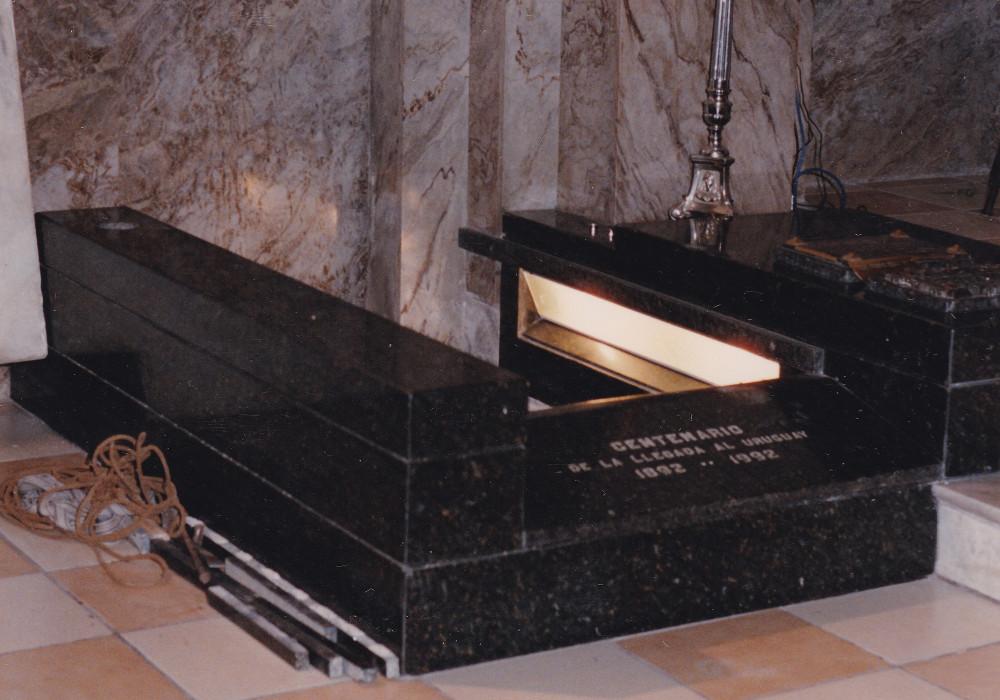 Montevideo 1993. Tomba della ven. Madre Rubatto