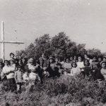 Patagonia. Processione per innalzare la Croce