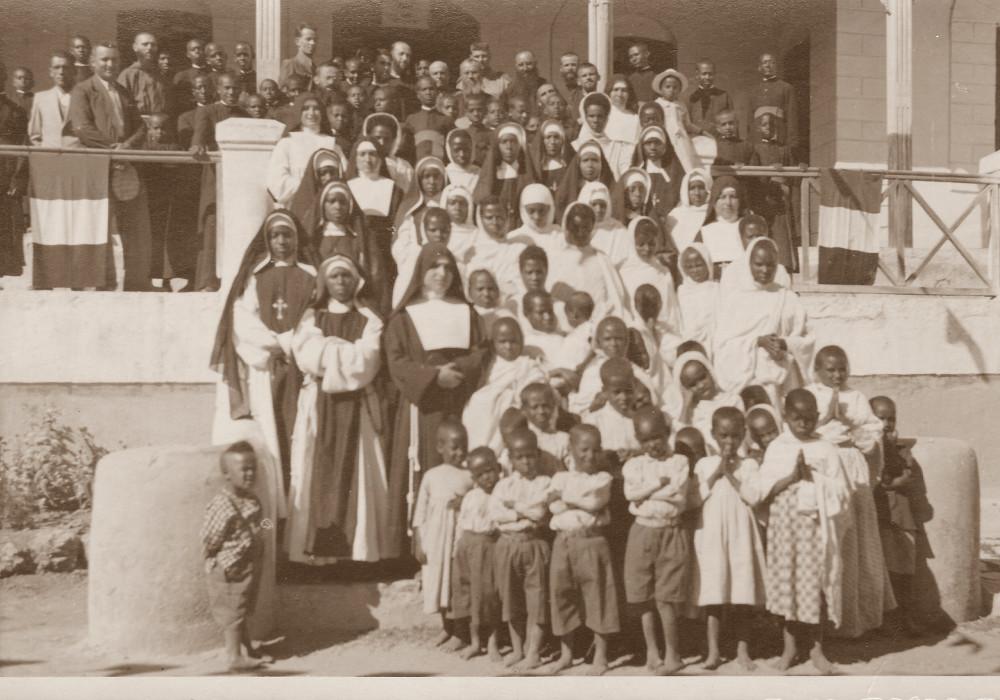 Harrar. L'orfanatrofio e le Suore indigene