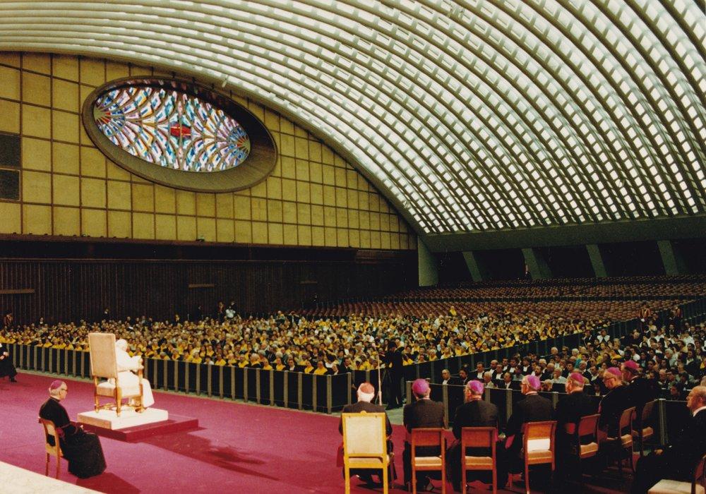 Roma 11 ottobre 1993, Aula Paolo VI Udienza pontificia (2)