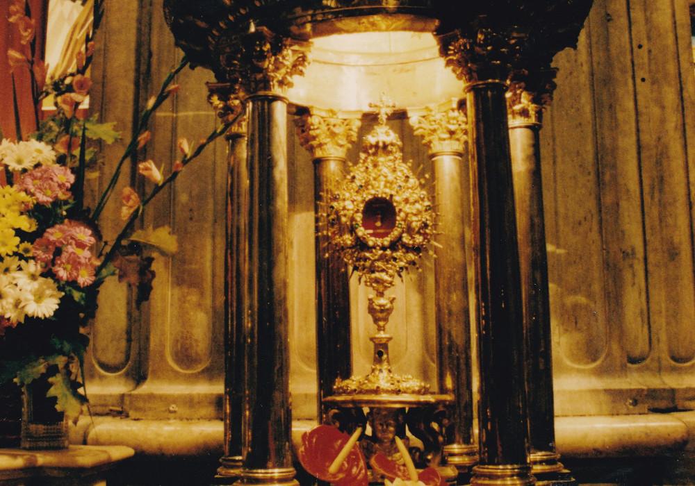 Genova. Reliquie della Beata Francesca Rubatto