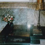 Montevideo. La tomba della Beata Francesca nella cappella di Belveder