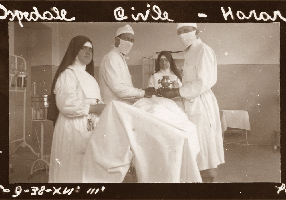 Harrar. Ospedale civile