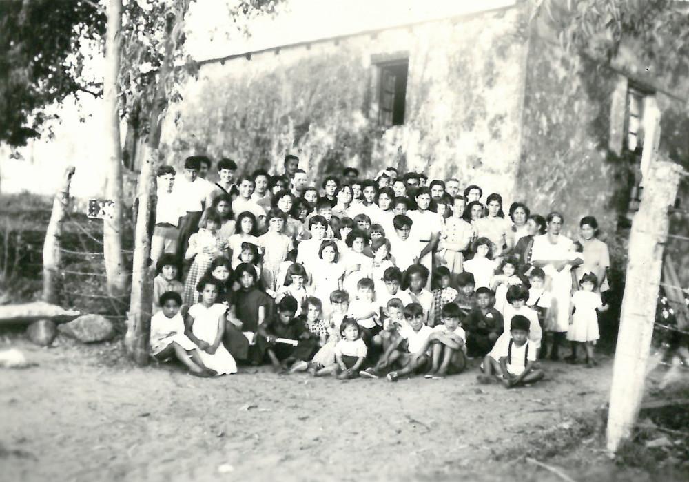Patagonia. Gruppo di bambini del catechismo