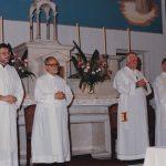 Montevideo 1993. I concelebranti del rito