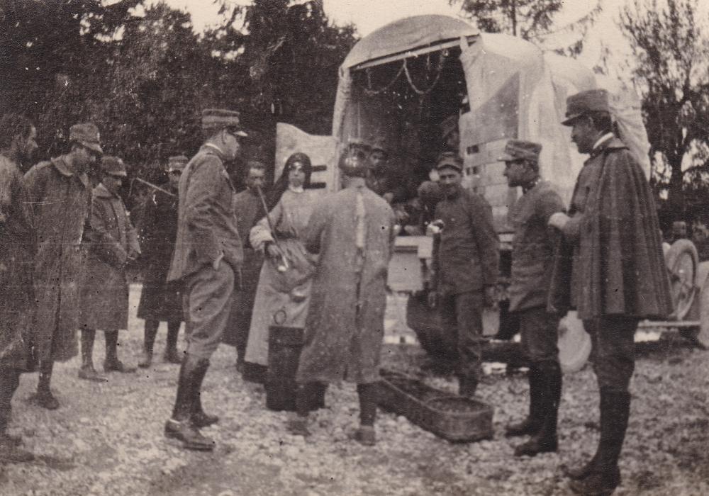Sr. M. Alessandra Caligaris Cormons Campo 1230 1916 r