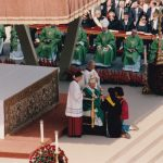 La processione dell'offerta dei doni