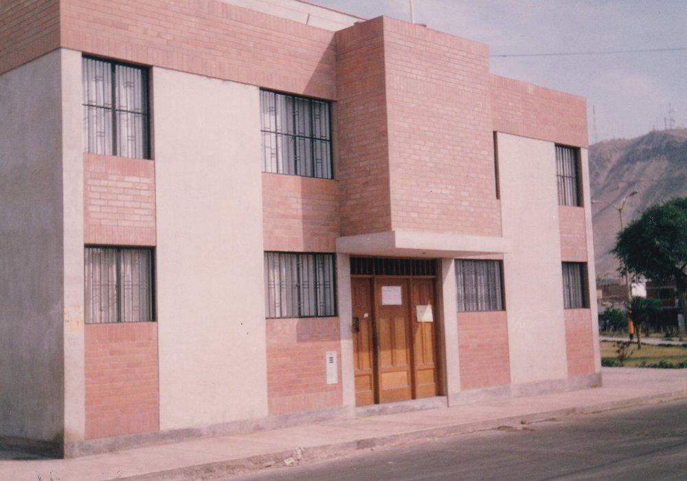 Lima aprile 1994. Capilla Virgen de Fatima