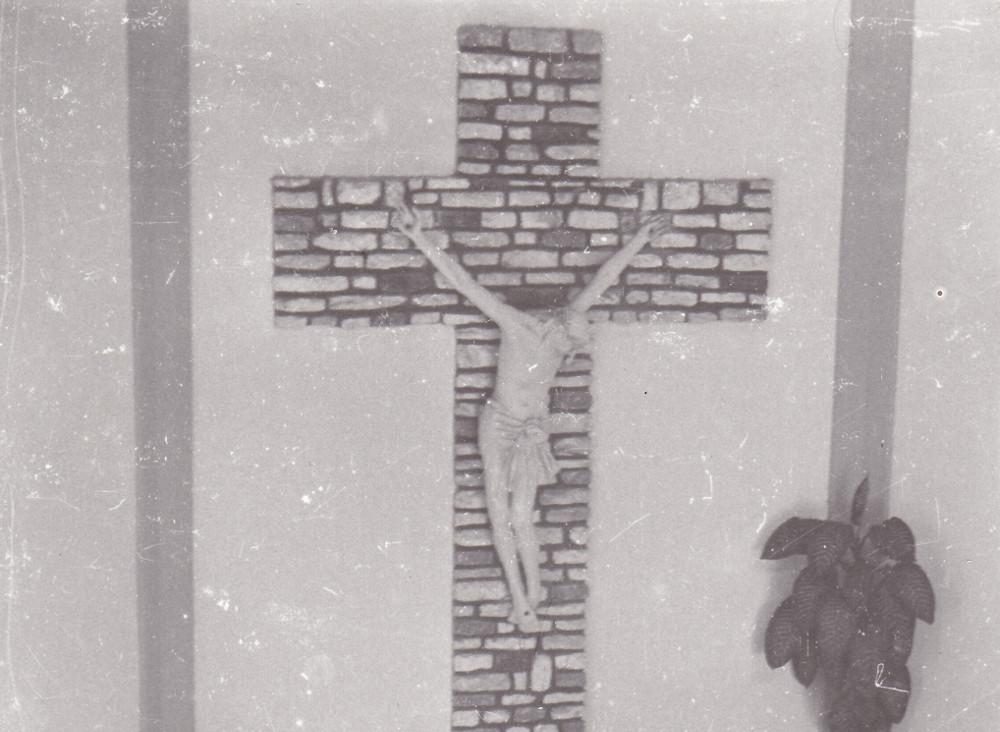 Saganeiti. Il Crocifisso della cappella