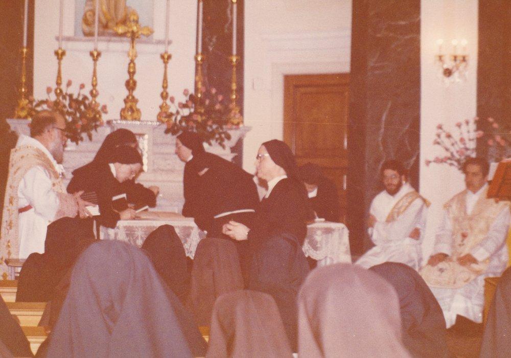 Genova 22 gen 1984. La consegna delle CCGG