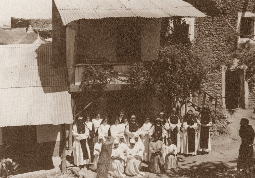 Casa della missione S. Chiara, noviziato delle Suore indigene