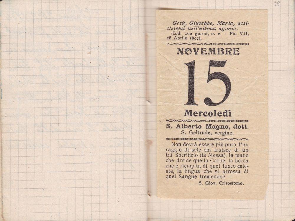 Quaderno A