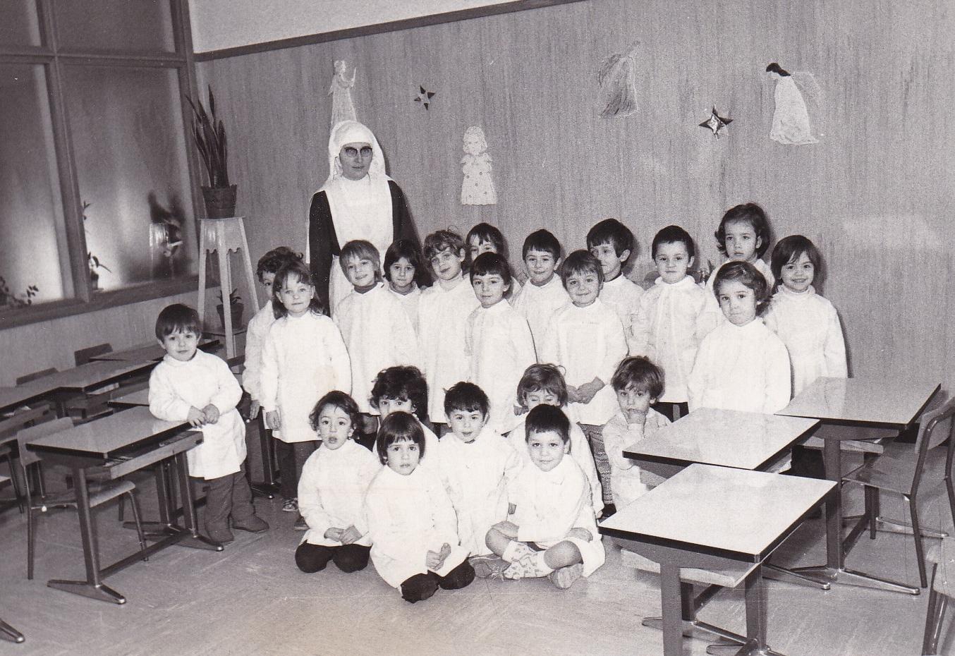 Sr. Edda insegnante di scuola materna