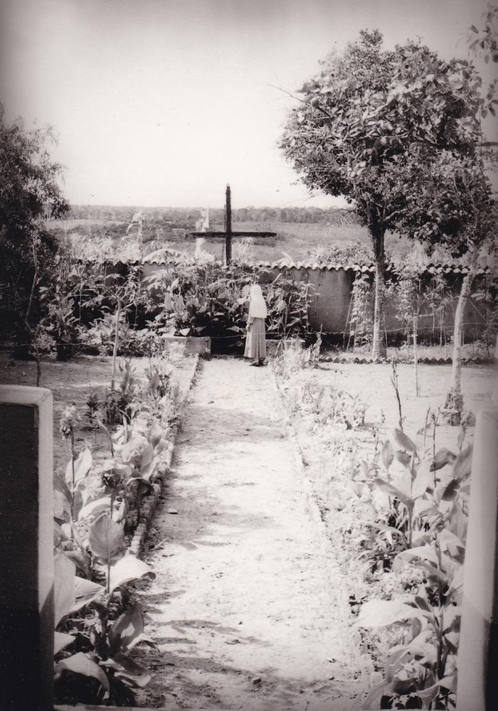Il cortile interno della Casa delle Suore
