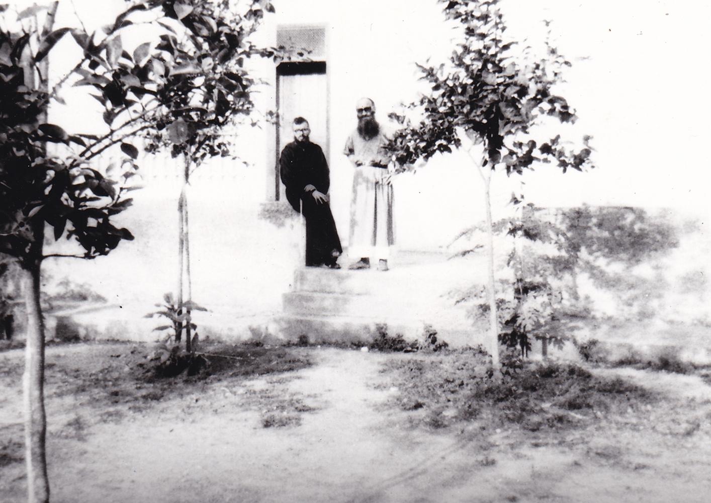 Casa dei Padri (part.) il cortile