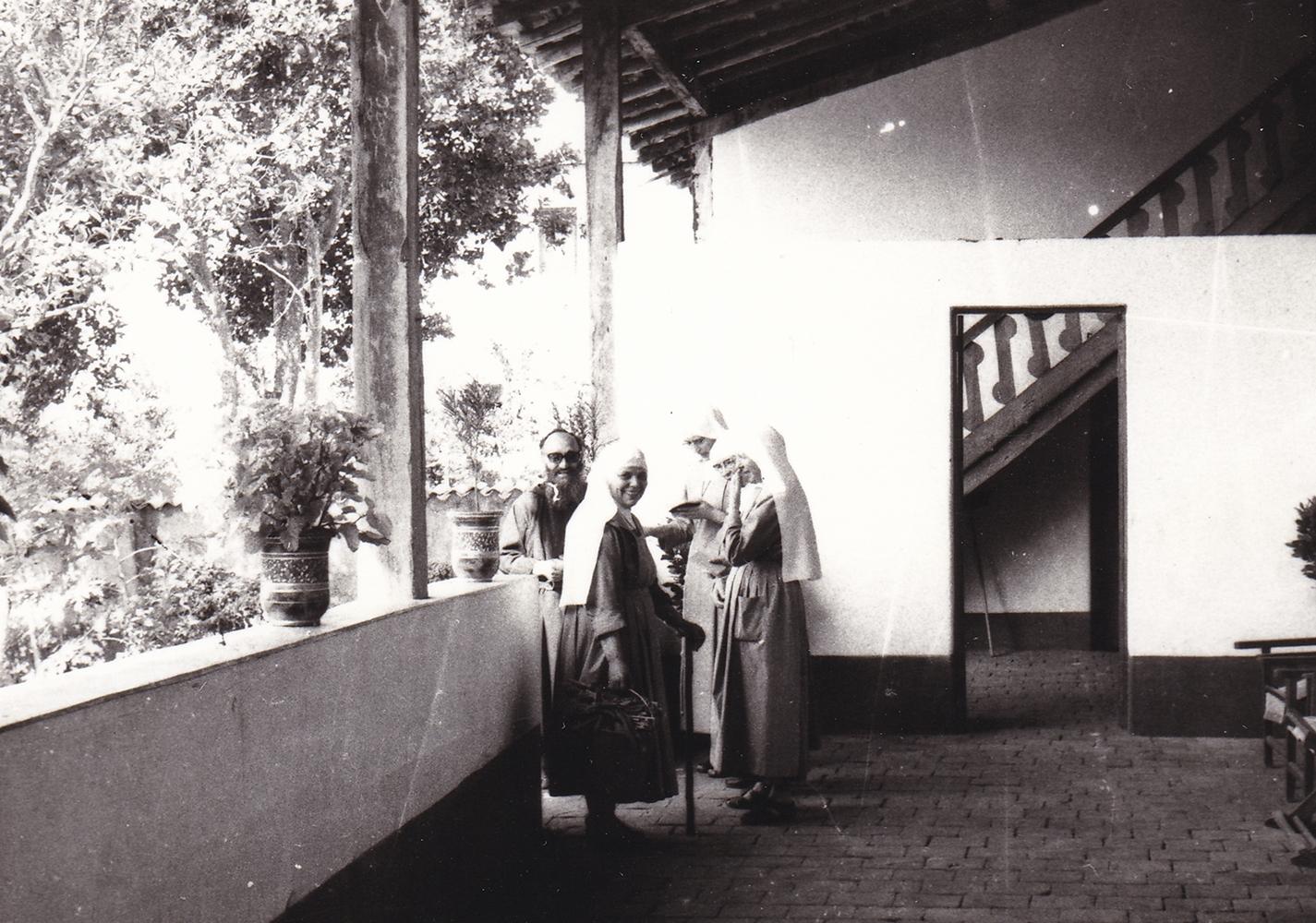 Casa delle Suore (part.) la scala che accedeva al dormitorio delle bambine