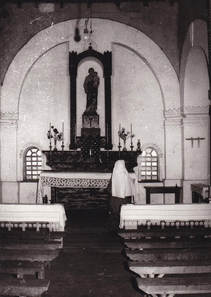 La statua di S. Giuseppe testimone del massacro