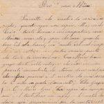 Lettera del 5 giugno 1900 recto