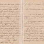 Lettera del 6 ottobre 1899 1^ parte
