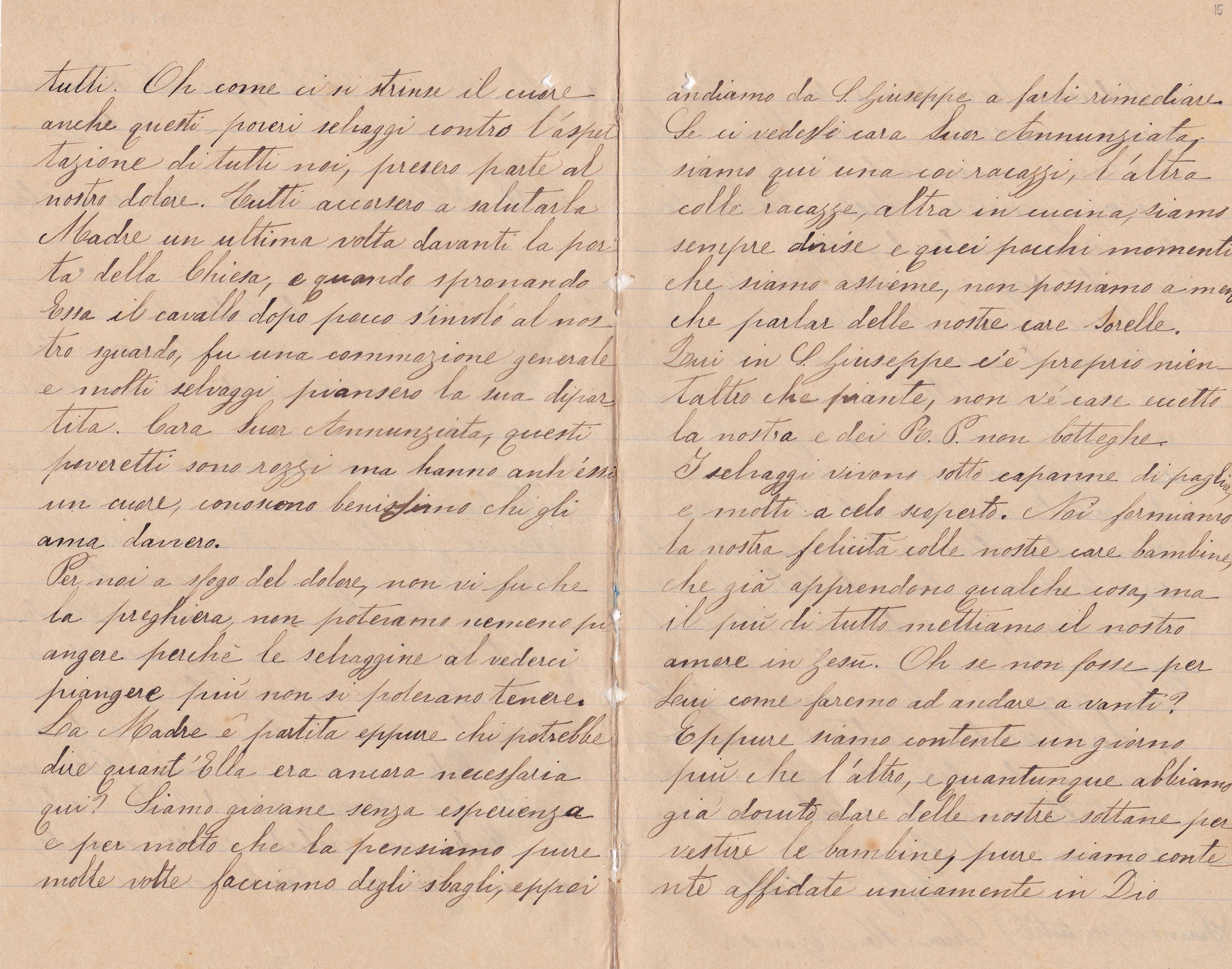 Lettera del 6 ottobre 1899 2^ parte