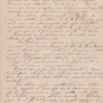 Lettera del 10 gennaio 1901 2^ parte
