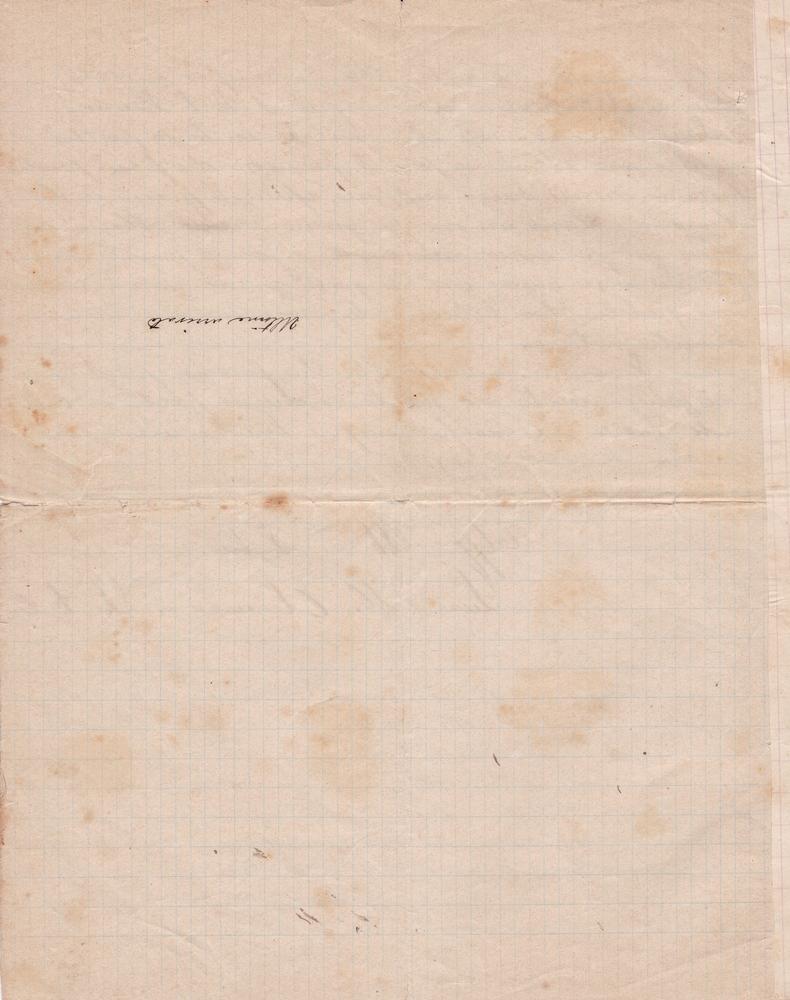 Lettera del 10 gennaio 1901 4^ parte