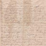 Lettera del 13 novembre 1899 recto