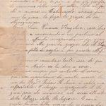 Lettera del 20 settembre 1899 2^ parte