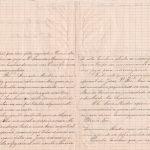 Lettera del 24 novembre 1900 verso