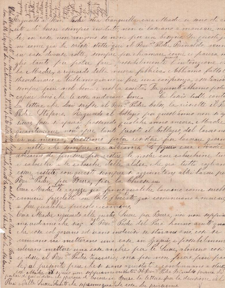 Lettera del 21 maggio 1900 4^ parte
