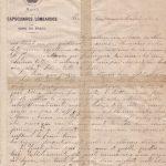 Lettera del 26 giugno 1900 1^ parte