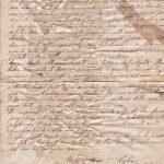 Lettera del 28 febbraio 1900 3^ parte