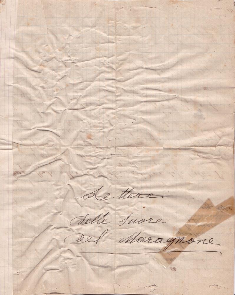 Lettera del 28 febbraio 1900 4^ parte
