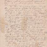 Lettera del 30 luglio 1900  verso