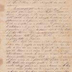 Lettera ai genitori del 27.07.1900 3^ parte