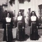 Le Missionarie americane sr. Graciela, sr. Estela e sr. Genovefa