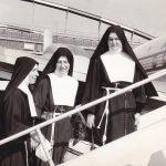 Le Missionarie italiane sr. Flaminia, sr. Dalmazia e sr. Gaetanina